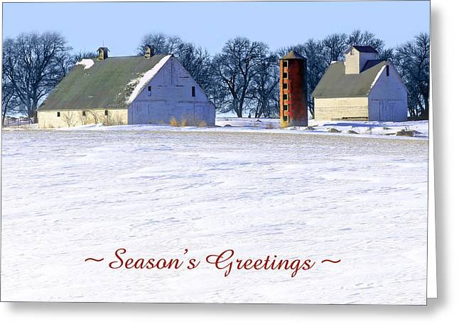 Peaceful Scene Greeting Cards - Winterscape  #2 Greeting Card by Nikolyn McDonald