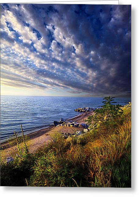 Beach Photographs Greeting Cards - Wisconsin Beaches Greeting Card by Phil Koch