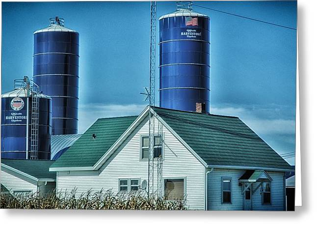Planet Factory Greeting Cards - Wisconsin Farm 2 Greeting Card by Todd and candice Dailey