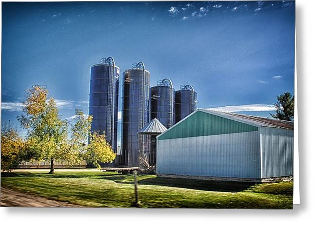 Planet Factory Greeting Cards - Wisconsin Farm 3 Greeting Card by Todd and candice Dailey