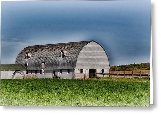 Planet Factory Greeting Cards - Wisconsin Farm 7 Greeting Card by Todd and candice Dailey