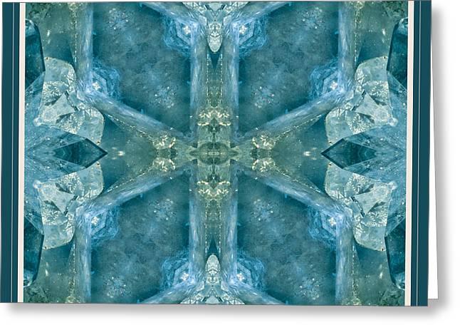 Mystic Art Greeting Cards - Wisdom Greeting Card by Alice Van der Sluis
