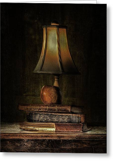 Old Objects Greeting Cards - Wisdom Greeting Card by Erik Brede