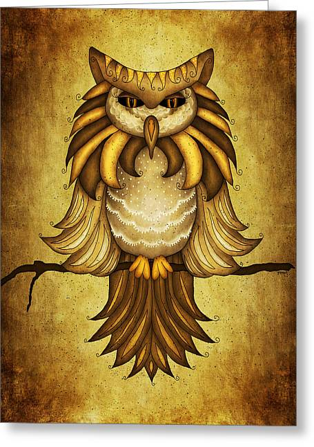 Brenda Bryant Photography Greeting Cards - Wise Owl Greeting Card by Brenda Bryant