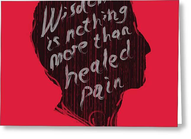 wise words Greeting Card by Budi Satria Kwan
