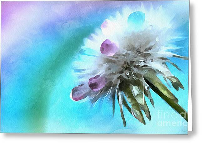 Wish Of A Lifetime Greeting Card by Krissy Katsimbras