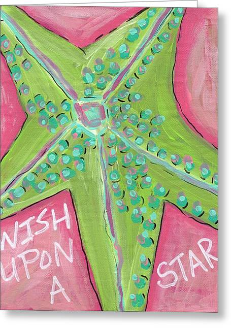 Galveston Greeting Cards - Wish Upon A Star Greeting Card by Catherine Lee