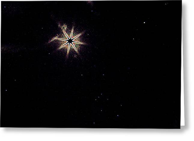 North Vancouver Mixed Media Greeting Cards - Wish Upon A Star Greeting Card by Travis Crockart