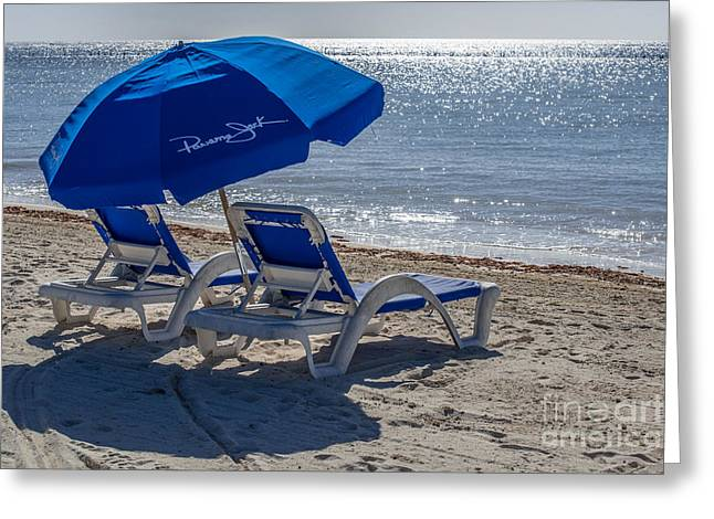 Wish You Were Here - Higgs Beach - Key West Greeting Card by Ian Monk