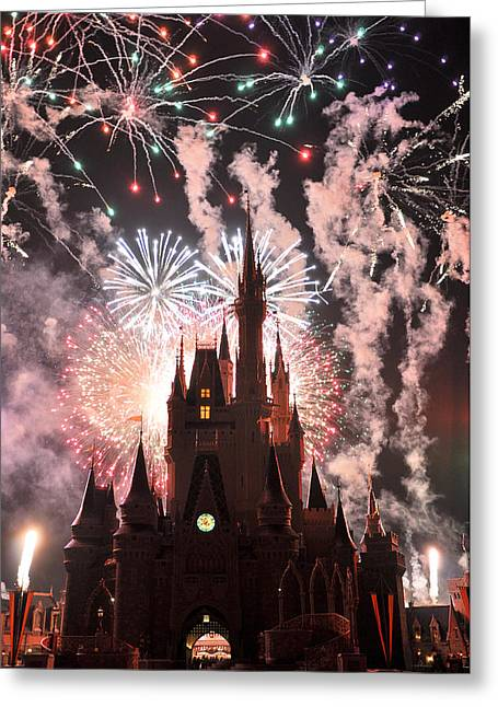 Wdw Greeting Cards - Wishes in the Dark Greeting Card by Jeffrey Stolzberg