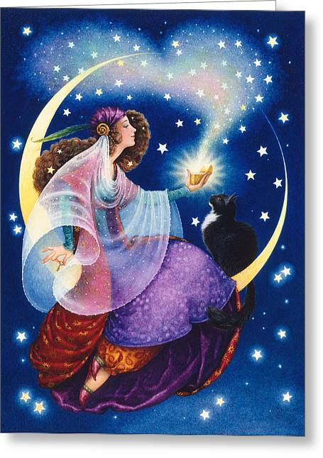 Wishes Greeting Card by Lynn Bywaters