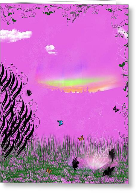 Enchanting Wall Art Greeting Cards - Wishes Greeting Card by Rhonda Barrett