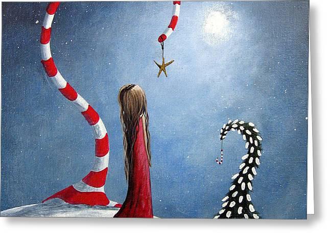 Wishing Star by Shawna Erback Greeting Card by Shawna Erback