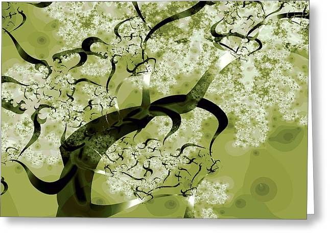 Malakhova Greeting Cards - Wishing Tree Greeting Card by Anastasiya Malakhova