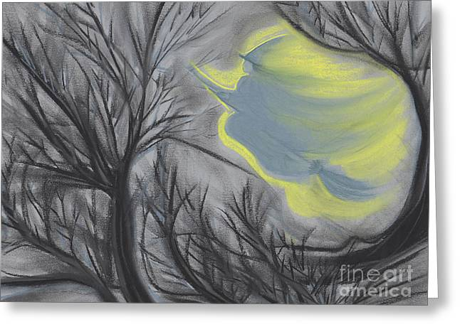 Imagination Pastels Greeting Cards - Witch Wood by jrr Greeting Card by First Star Art