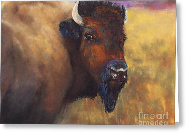 Western Western Art Pastels Greeting Cards - With Age Comes Beauty Greeting Card by Frances Marino