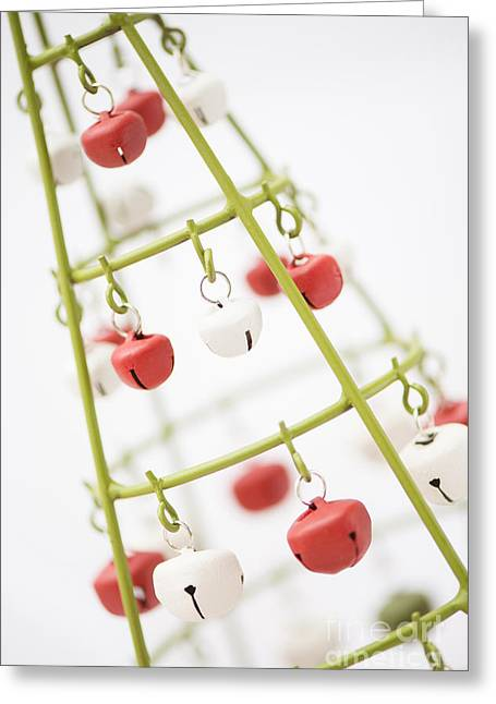 Festivities Greeting Cards - With Bells On Greeting Card by Anne Gilbert