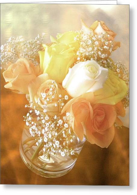 Wedding Shower Greeting Cards - With Love Greeting Card by Julie Palencia
