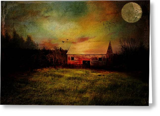 Concord Digital Greeting Cards - Withered Memories Greeting Card by Pamela Phelps