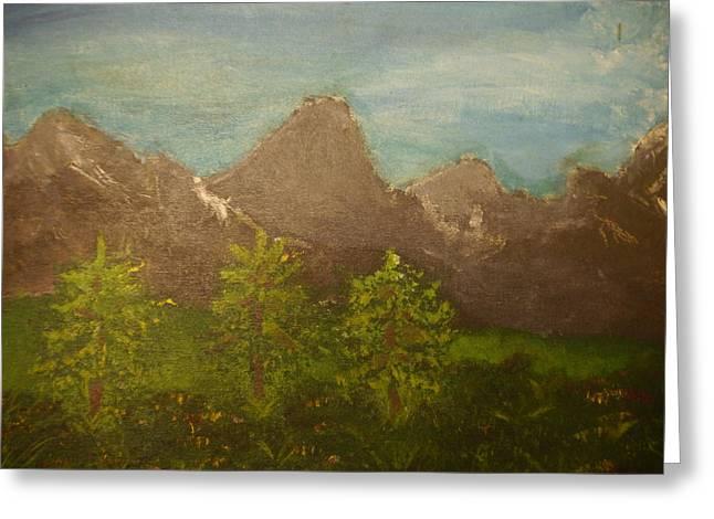 Joshua Massenburg Greeting Cards - WithIn The Mountains Greeting Card by Joshua Massenburg