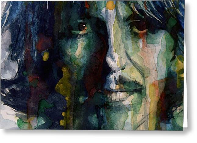 Google Greeting Cards - Within You Without You Greeting Card by Paul Lovering