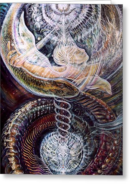 Ayahuasca Greeting Cards - Withinfinite Passage Greeting Card by Jerod  Kytah
