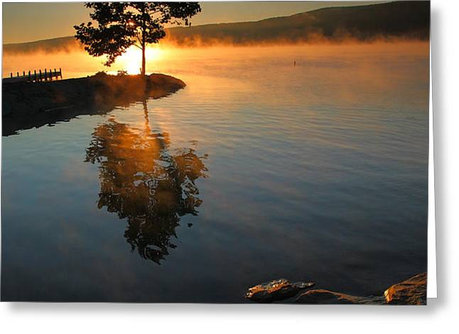 Witness to the Dawn III Greeting Card by Steven Ainsworth