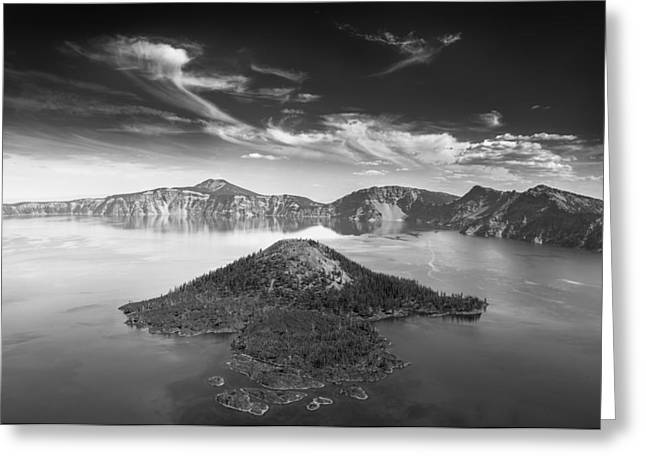 Insel Greeting Cards - Wizard Island Greeting Card by Alexander Kunz