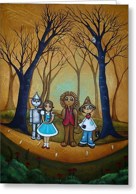 Toto Greeting Cards - Wizard of Oz - If I Only Greeting Card by Charlene Murray Zatloukal