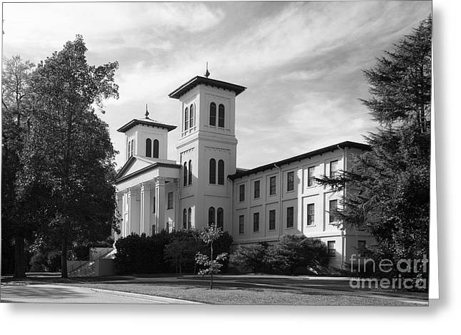 Recently Sold -  - Special Occasion Greeting Cards - Wofford College Main Building Greeting Card by University Icons