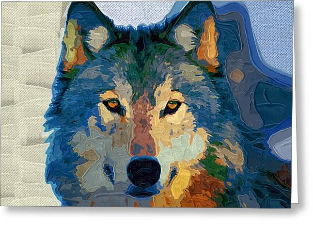 Loyal Greeting Cards - Wolf 60 Greeting Card by Victor Gladkiy