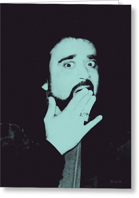 Wolfman Greeting Cards - Wolfman Jack Greeting Card by Bob Orsillo