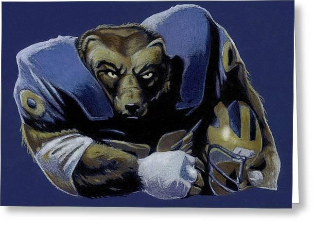 Wolverine Greeting Card by Jason VanderHoff