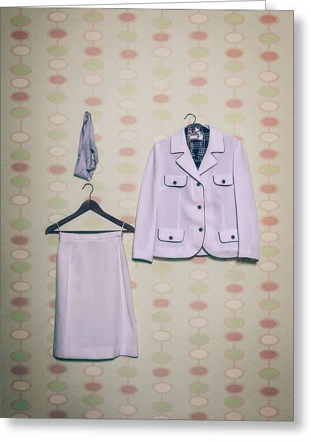 Slip Greeting Cards - Womans Clothes Greeting Card by Joana Kruse