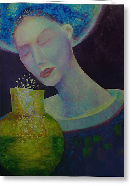 Fashion Pictures For Sale Greeting Cards - Womans dream Greeting Card by Magdalena Walulik