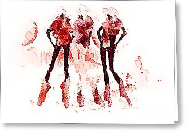 Subtle Colors Greeting Cards - Women 500-11-13 marucii Greeting Card by Marek Lutek
