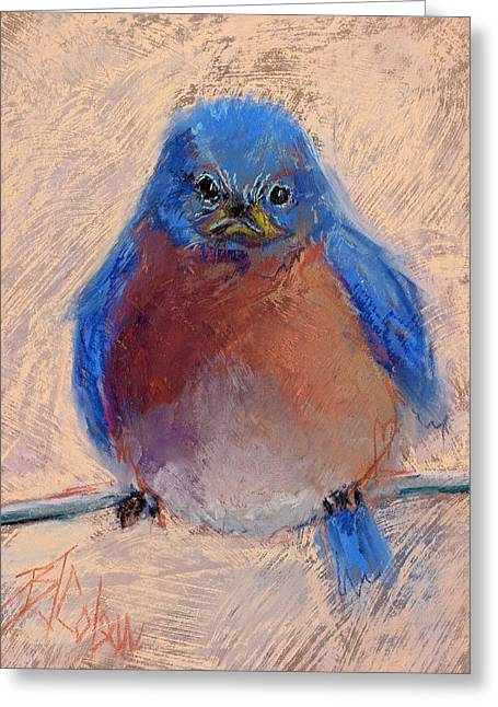 Friend Pastels Greeting Cards - Wonder Bird Greeting Card by Billie Colson