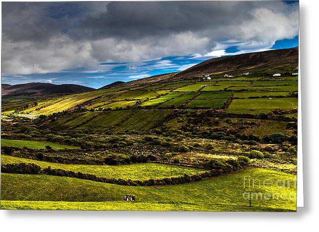wonderful Ireland Greeting Card by Juergen Klust