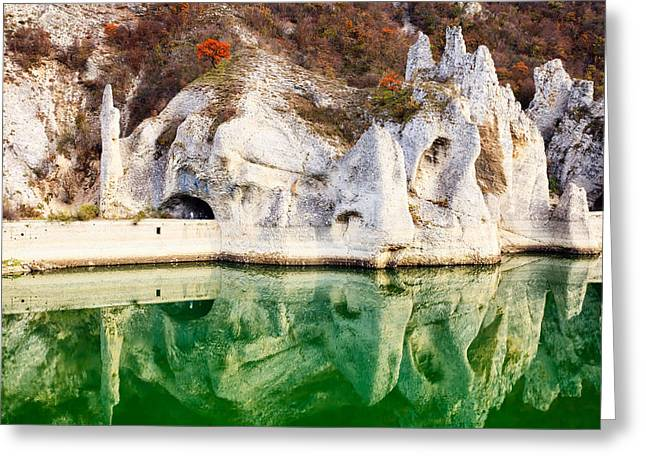 Tsonevo Lake Photographs Greeting Cards - Wonderful Rocks Greeting Card by Evgeni Dinev