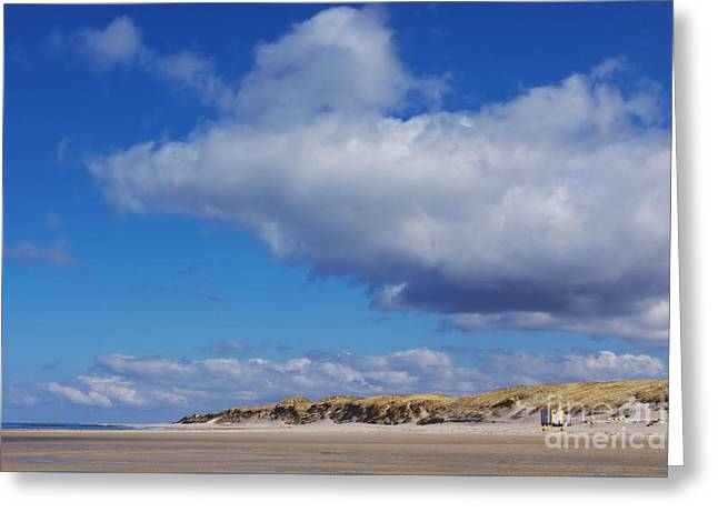 North Frisia Greeting Cards - Wonderful Sky Greeting Card by Angela Doelling AD DESIGN Photo and PhotoArt