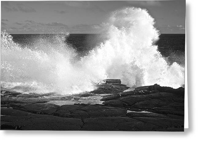 Ocean Images Greeting Cards - Wonderful White Waves Greeting Card by Venetia Featherstone-Witty
