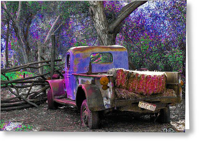 Ford Brown Print Greeting Cards - Wonderland Greeting Card by Lisa S Baker