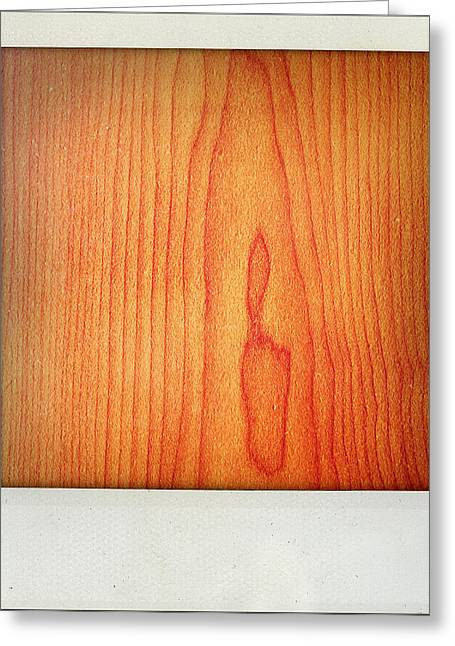 Hardwood Flooring Greeting Cards - Wood texture Greeting Card by Les Cunliffe