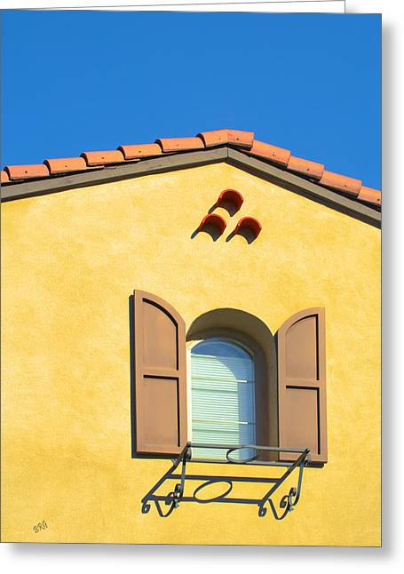 Woodbury Greeting Cards - Woodbury Windows No 1 Greeting Card by Ben and Raisa Gertsberg