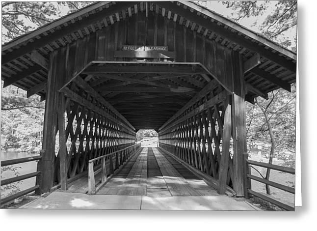 Jonah Photographs Greeting Cards - Wooden Bridge Greeting Card by Jonah George