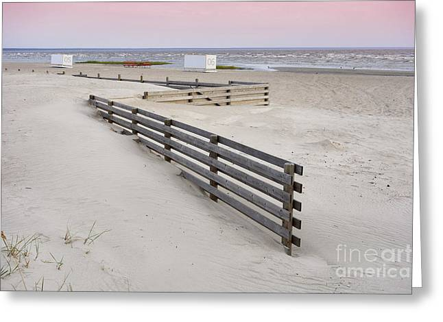 Cubicle Greeting Cards - Wooden fence  Greeting Card by Jaak Nilson