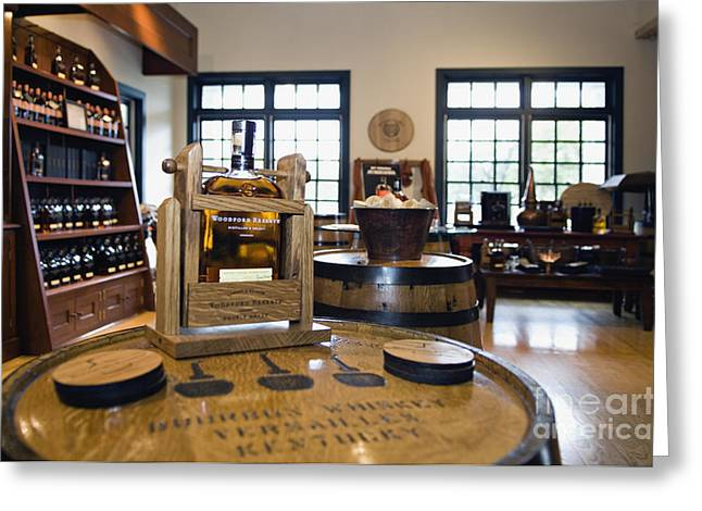 Visitor Center Greeting Cards - Woodford Reserve - D008783 Greeting Card by Daniel Dempster