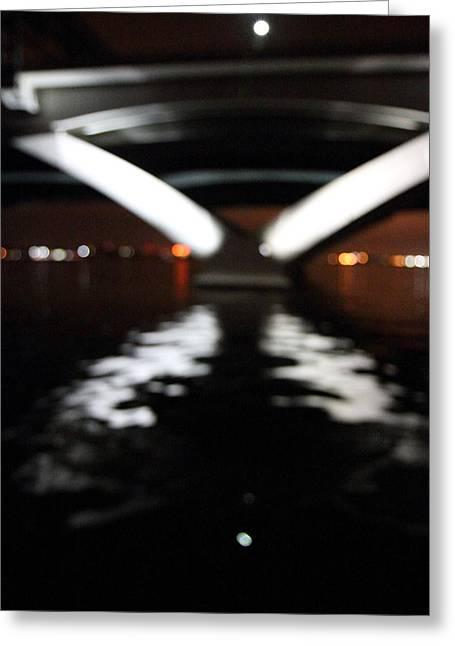 Arches Greeting Cards - Woodrow Wilson Bridge - Washington DC - 011315 Greeting Card by DC Photographer
