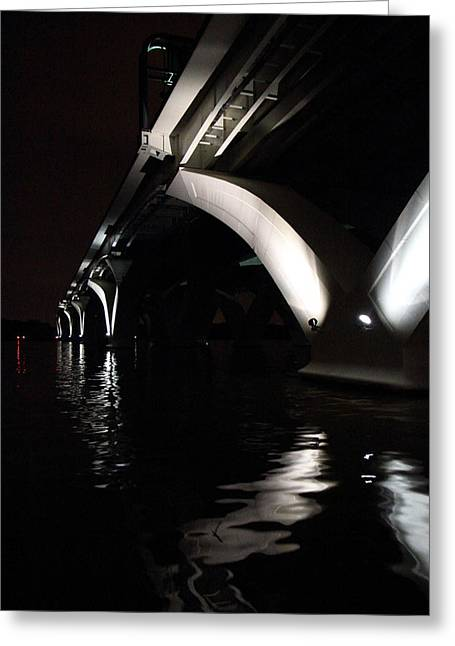 Arches Greeting Cards - Woodrow Wilson Bridge - Washington DC - 011323 Greeting Card by DC Photographer