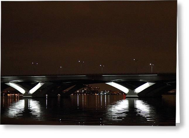 Woodrow Wilson Bridge - Washington Dc - 011364 Greeting Card by DC Photographer